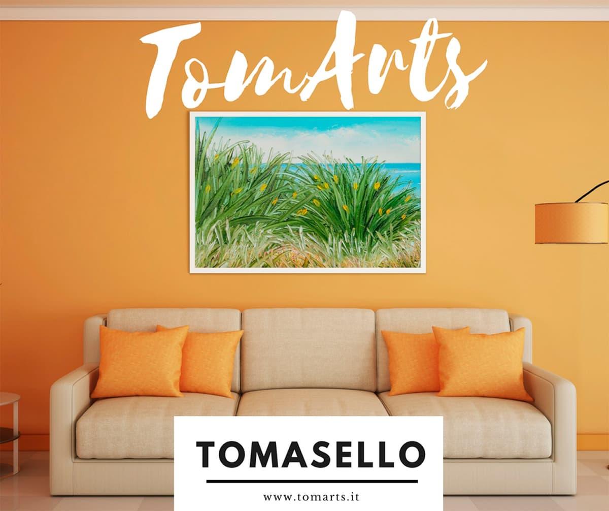 Sito Web TomArts layout - Vincenzo Di Dio