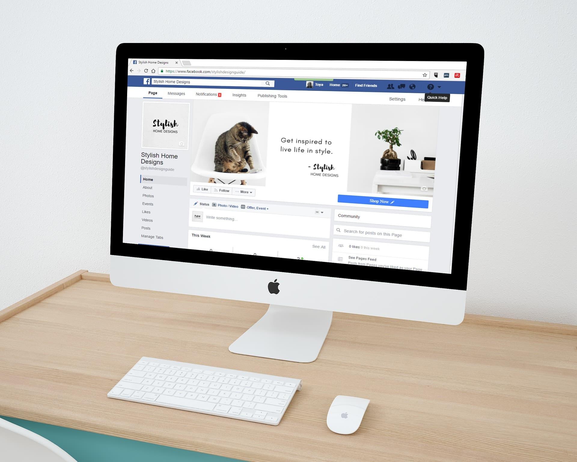 Pagina Facebook per aziende - Vincenzo Di Dio