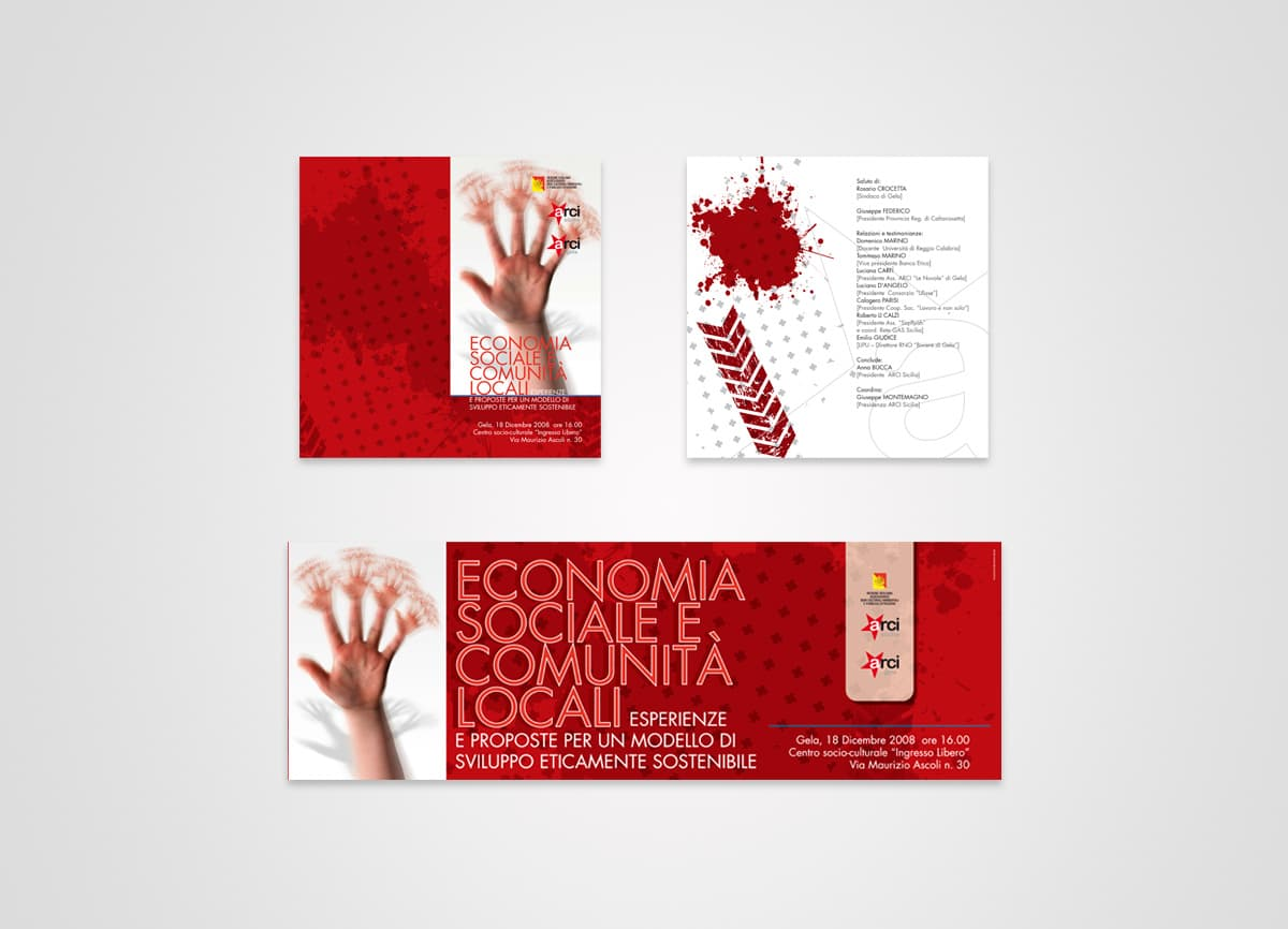 ARCI Gela Convegno Regionale Economia Sociale