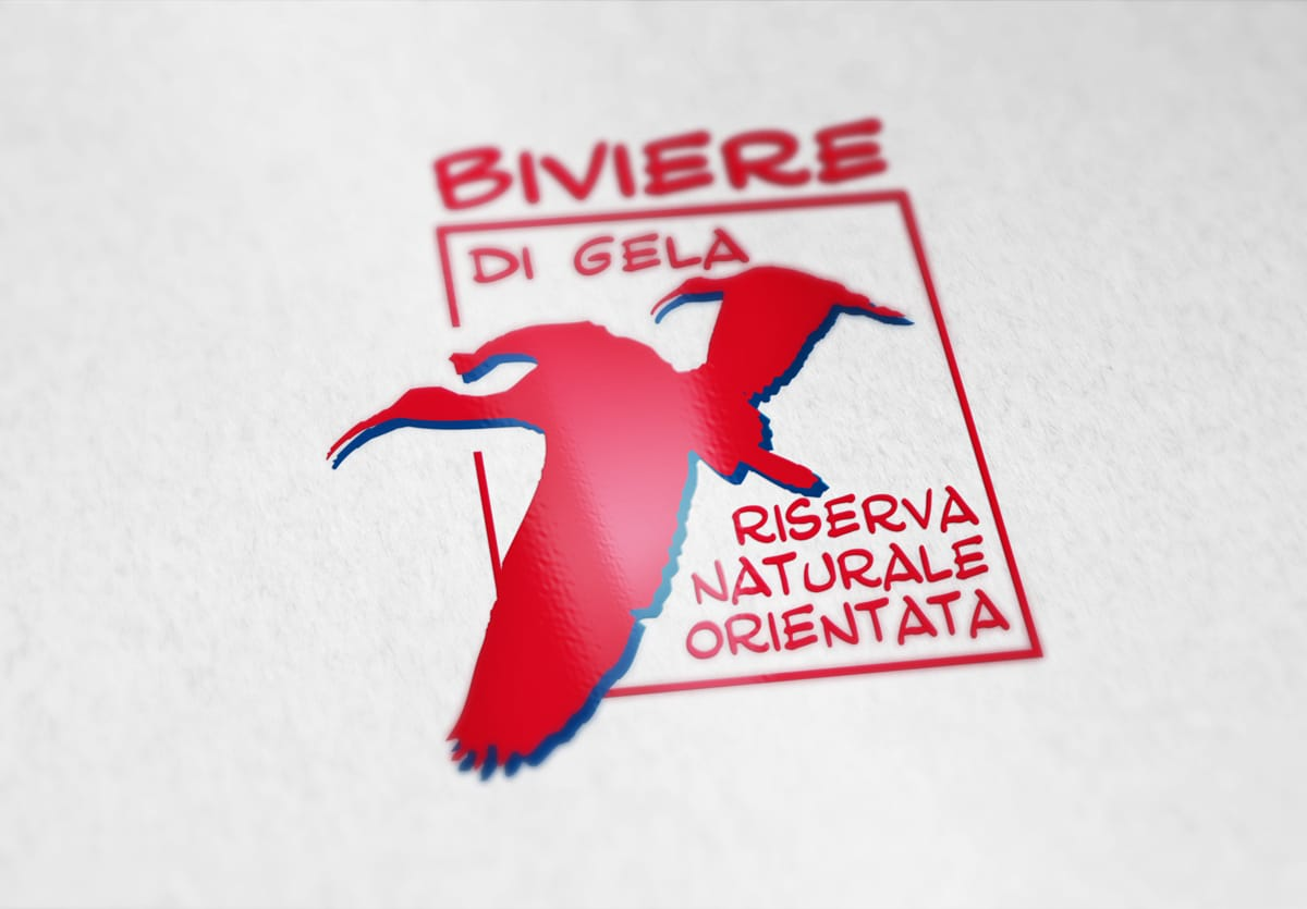 logo riserva naturale biviere di gela - vincenzo di dio