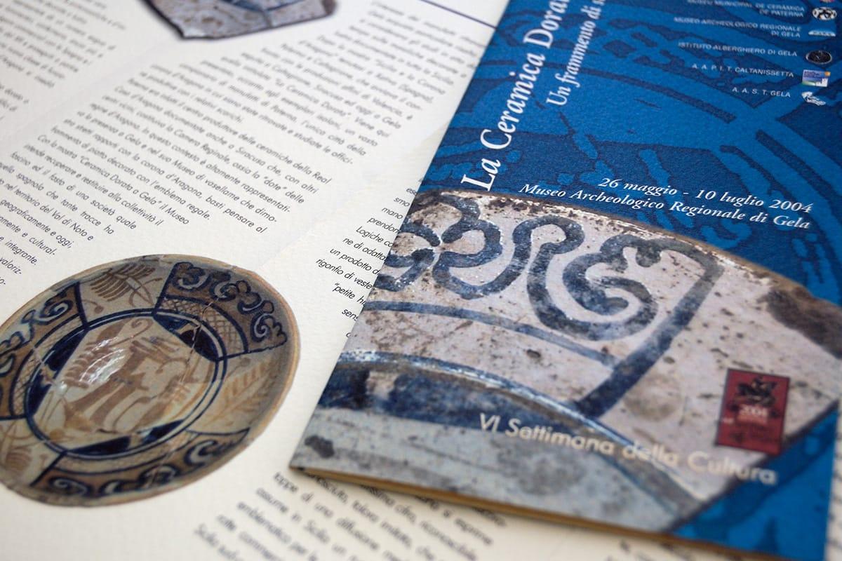 mostra ceramica dorata museo archeologico gela - vincenzo di dio