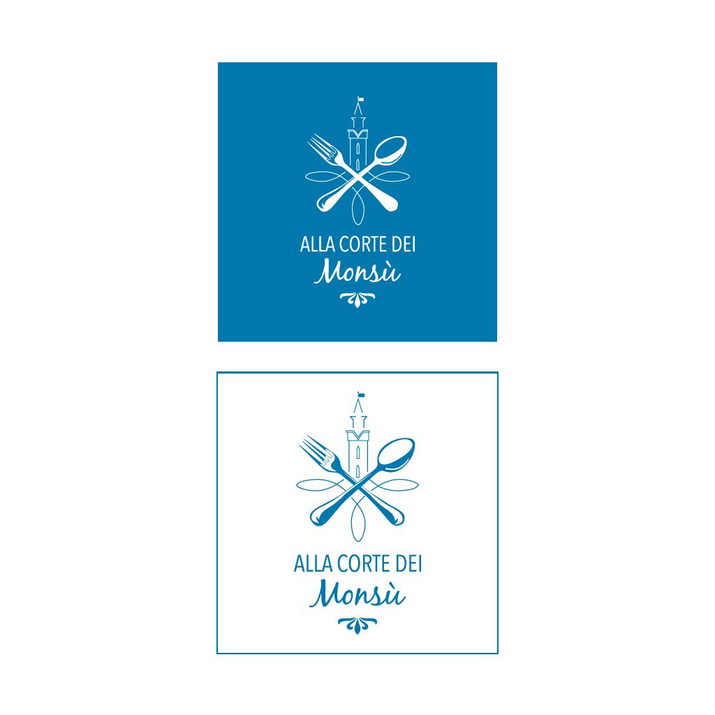 varianti logo Alla Corte dei Monsù ACLI