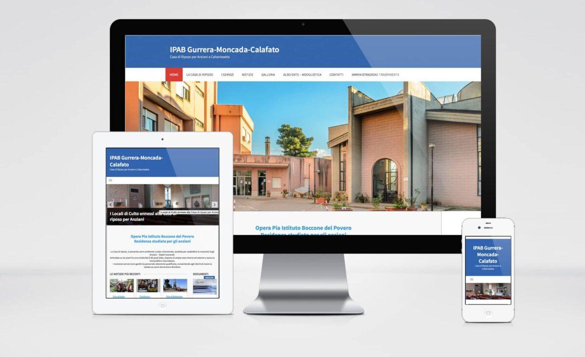 Web Responsive Casa di Riposo Anziani Caltanissetta