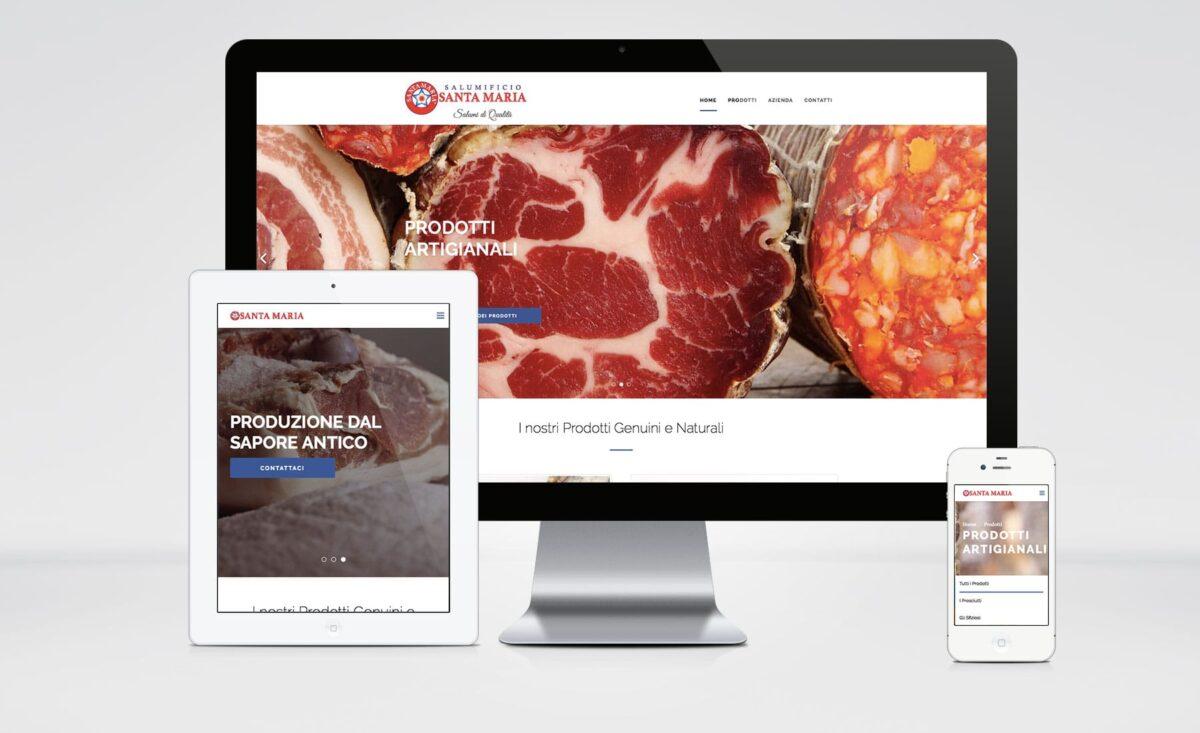 Salumificio Santamaria sito web