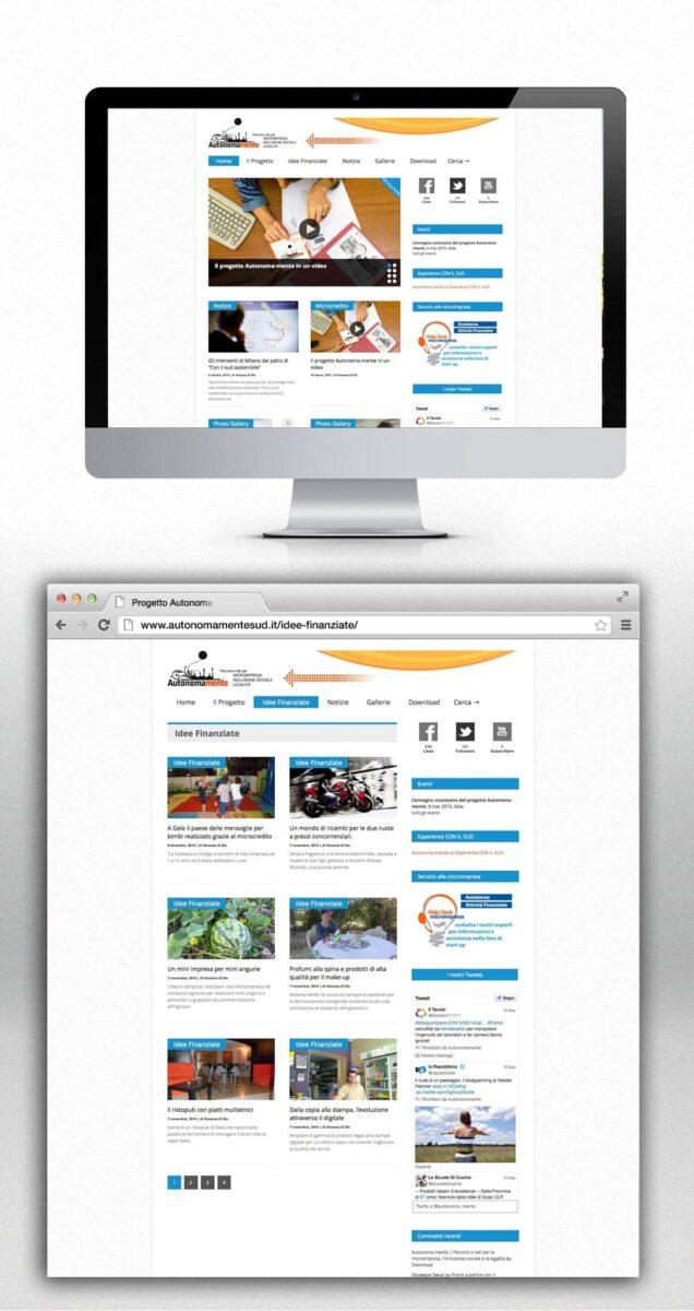 sito web progetto autonoma-mente