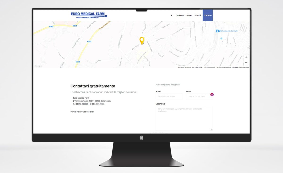 Sito web Euro Medical Farm